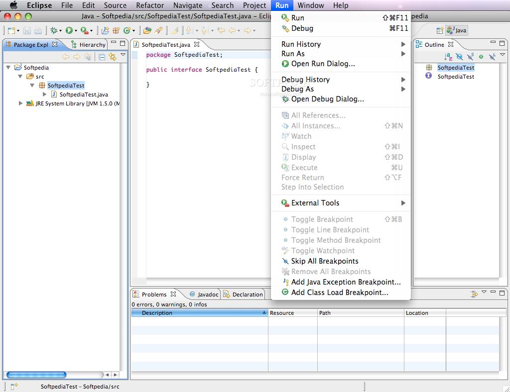 أذكر يا شباب إني سألت عن برنامج برمجة Java قبل مده و رد الأستاذ نورالكون  وقالي أستخدم ال Xcode و أخيرا لقيت البرنامج وهو Eclipse وللماك هذا برنامج  برمجه لكن ...