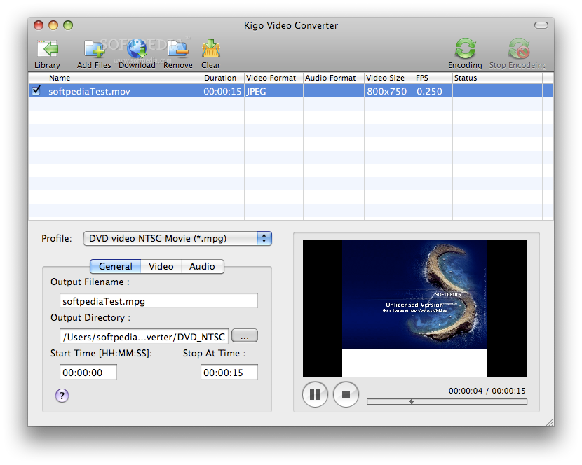 Kigo Video Converter Pro 4 Full Mac OS X