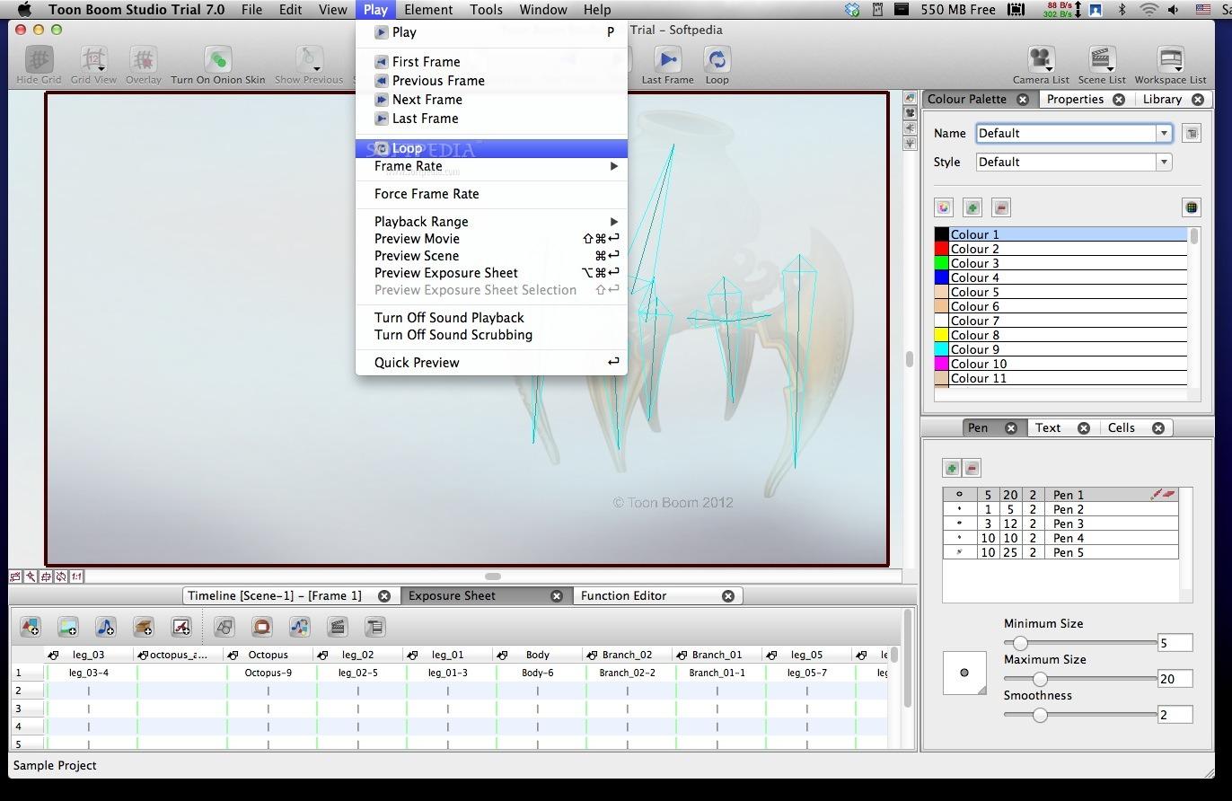 Toon Boom Estudio 5, Dale existencia a tus animaciones